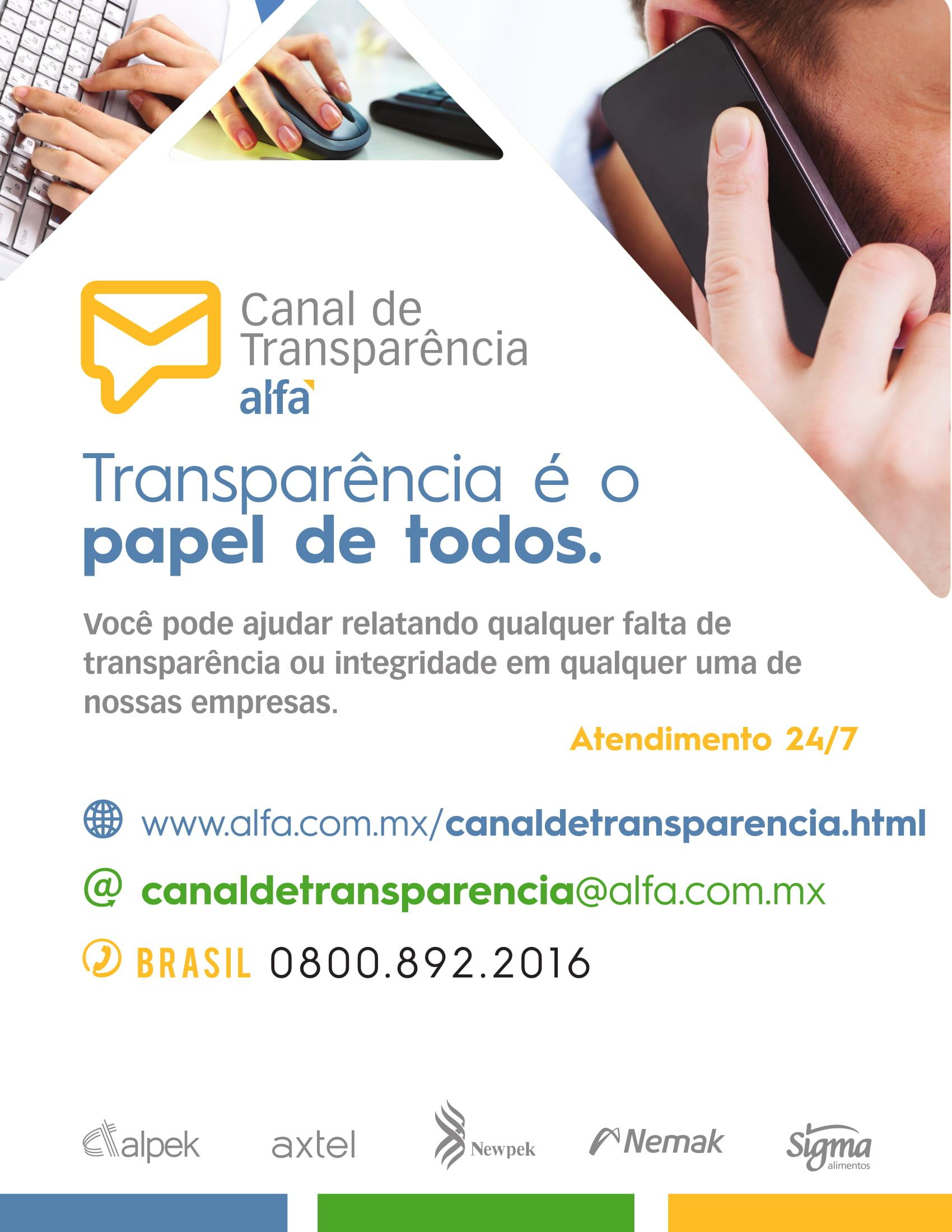 Canal de Transparência